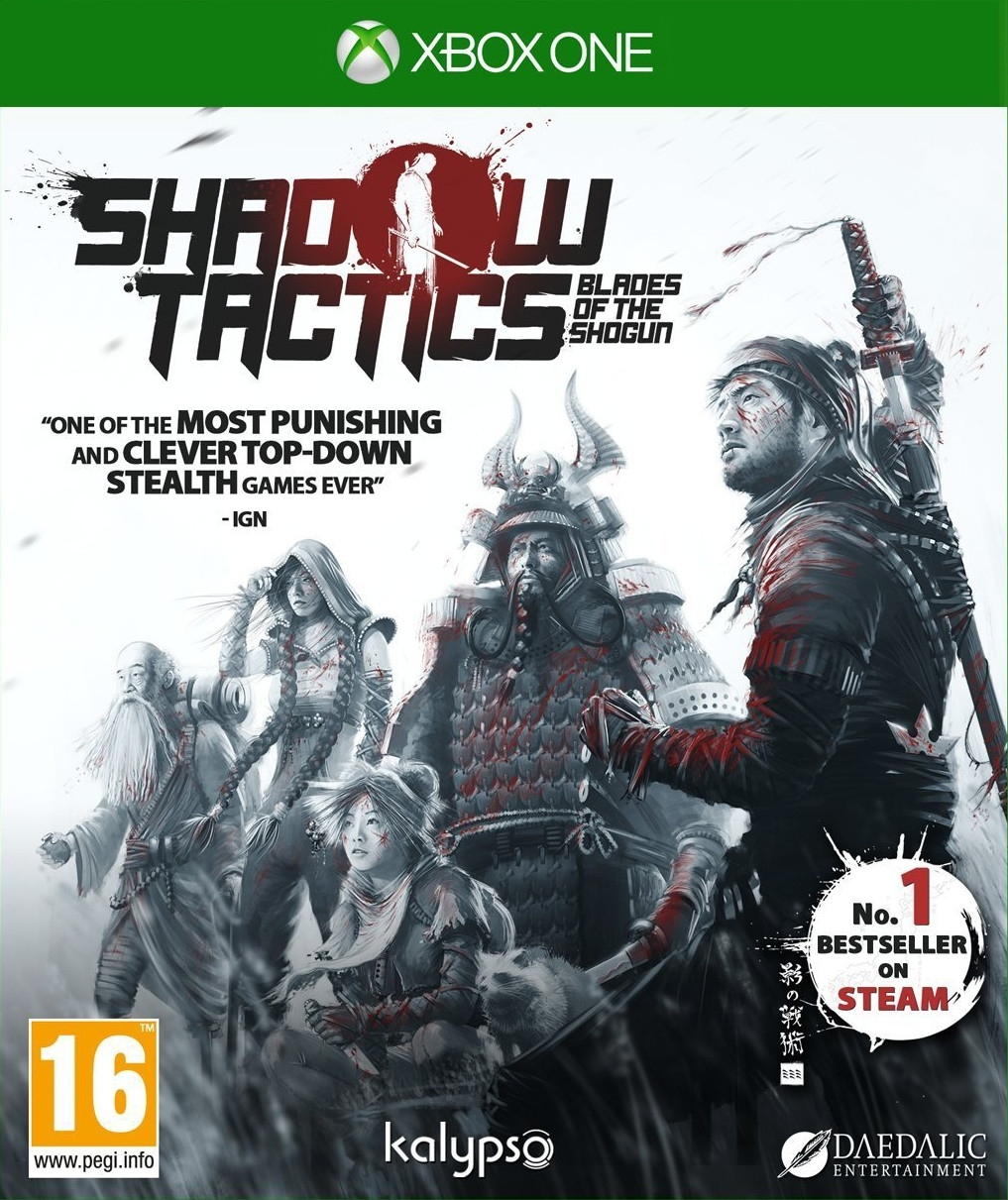 Shadow Tactics: Blades Of The Shogun PL (Xbox One)